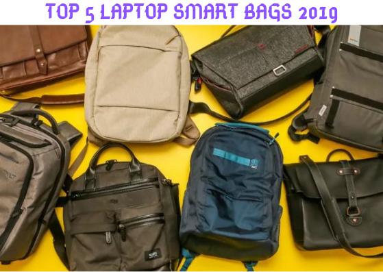 Top 5 smart laptop bags 2019